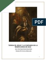SANTA TERESA DE JESUS Y LA MISERICORDIA DE DIOS