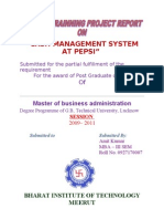 Cash Management System Pepsi