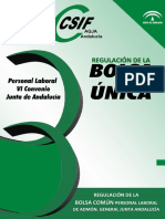 Manual Bolsa Unica Junta andalucia - modelo ws