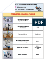 Catálogo de Productos Iglu Insumos