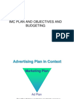 IMC Plan-Objectives & Budgeting (2)
