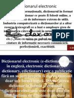 Dicționarul electronic