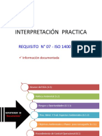 3 - Interp  Practica Req  07 - ISO 14001 V 2015