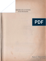 Di Pietro - Historia de La Cultura. Textos Seleccionados