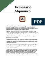 Diccionario Alquimico