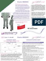 Instrucciones de Costura de la Filipina de Chef de Cocina Style HM2005C.pdf