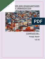 ADVANTAGES AND DISADVANTAGES OF URBANIZATION.docx