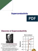 Superconductivity notes