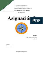 Asignación - Distribucion I