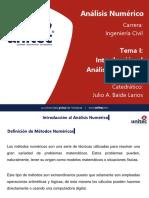 Tema I - Introducción al Análisis Numérico.ppt