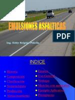Construccion de caminos con emulsiones asfalticas