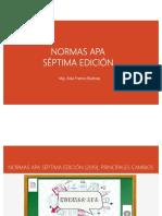 Normas APA VII edición