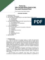 3. EVOLUCION TIPOLOGICA DEL UTILLAJE PALEOLITICO