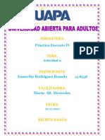 TAREA II PRACTICA DOCENTE IV