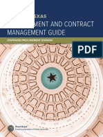 Texas Procurement and Contract Management Guide