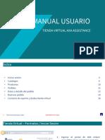 Manual tienda virtual Proveedores