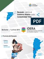 plan de gobierno abierno en Neuquen
