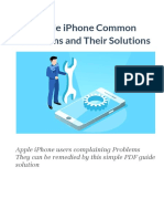 Apple iPhone Common Problems and Their Solutions 2019