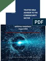 Chertoff Capital Cyber Market Snapshot August 2019