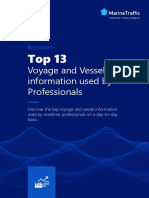 Top 13 Voyage and Vessel information used by Professionals