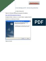 Installation Client DATASAV