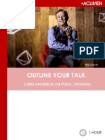Chris Anderson Resource Guide 3_Outline Your Talk