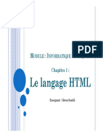 Cours - HTML