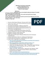 IEL Essay - Ethiopian Civil Service University.doc
