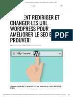 Les URL WordPress