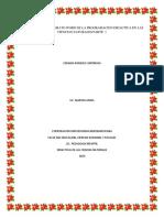 Tarea - Elaboración en formato Word de la programación Didáctica en las Ciencias Naturales. - 1ra parte