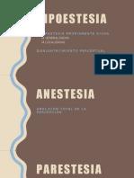 Hipoestesia