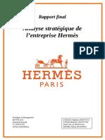 Analyse stratégique de l entreprise Hermès