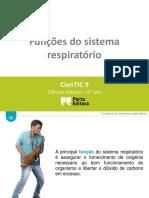 Ctic9 I2 Funções Do Sistema Respiratório