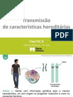 Ctic9 O3 Transmissão de Características Hereditárias