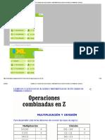 EJEMPLOS Y EJERCICIOS DE ÁLGEBRA Y MATEMÁTICAS DE SEXTO GRADO DE PRIMARIA O BÁSICO