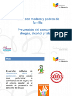 Presentación taller padres_Prevención Drogas