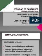 CLASE DE SEMIOLOGIA ABDOMINAL