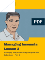Managing Insomnia Lesson 3