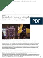 Identificado autor de ataque terrorista em Londres _ Notícias internacionais e análises _ DW _ 02.02.2020