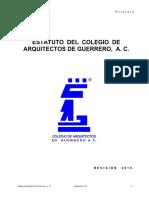 Estatuto CGA 2015 Revision Final Septiembre