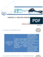 U3 ANALISIS MACROSCOPICO