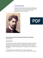 La teoría de Piaget en el desarrollo cognitivo