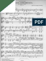 Paganini, Nicolò - Sonata Concertata M.S. 2 [rev. Gazzelloni]