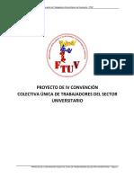 Proyecto de IV CCU presentado ante el MPPPST