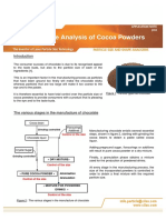 010-Particle Size Analysis of Cocoa Powders