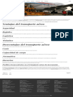 Transporte aéreo para importación y exportación de mercancías - Ertransit