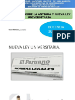 analisis comparativo nueva antigua ley universitaria peru-