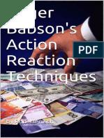 VP01 Action reaction technique