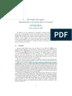 El estadio del espejo. Introducción a la teoría del yo en Lacan - Blasco, José María.pdf