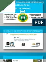 EXPOSICIÓN -LEY DE TRANSITO